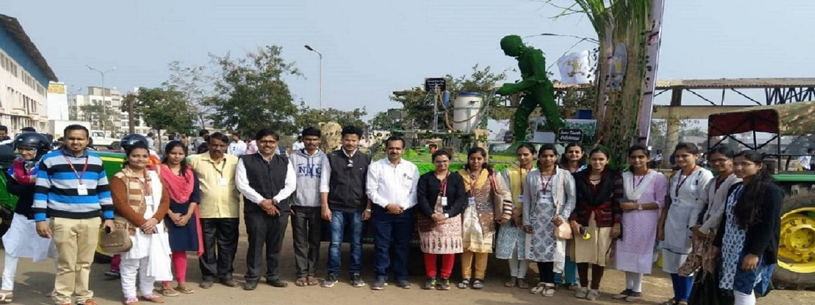Agril.Biotech Staff at Golden Jubilee Project Rally